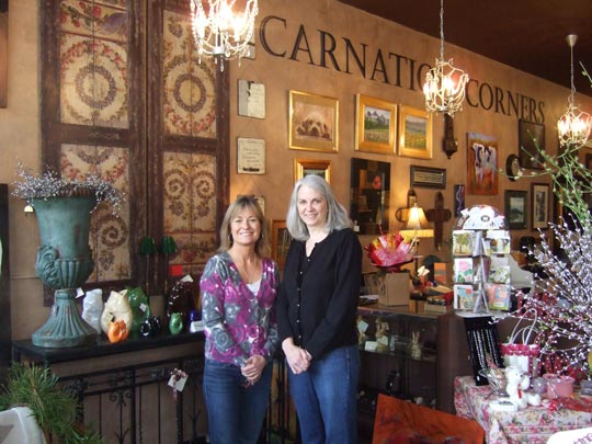 Carnation Corners Gifts and Fine Arts